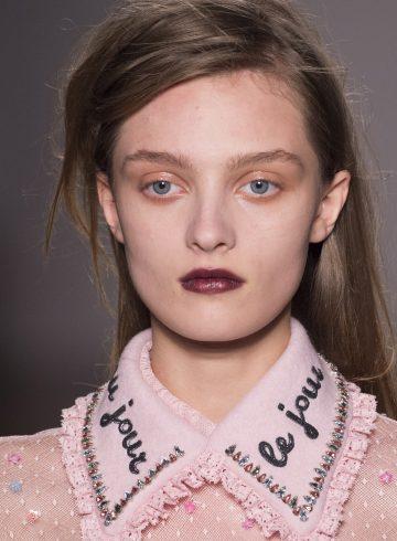 Au Jour Le Jour Fall 2017 Fashion Show Beauty