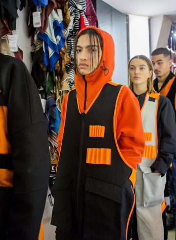 Avoc Fall 2017 Menswear Fashion Show Backstage