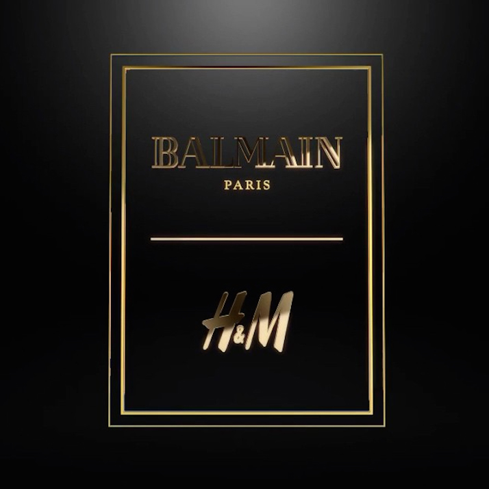 balmain and H-and-m the impression