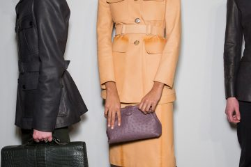 Bottega Veneta Fall 2017 Fashion Show Backstage