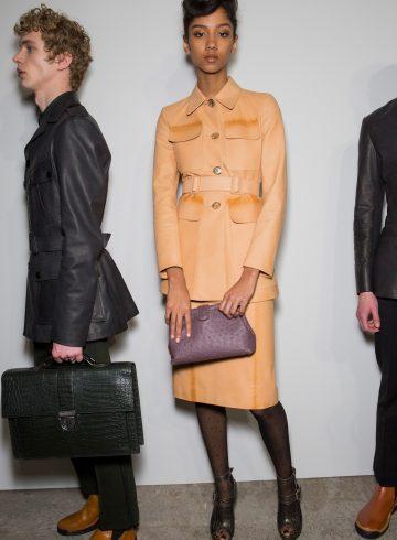 Bottega Veneta Fall 2017 Fashion Show Backstage