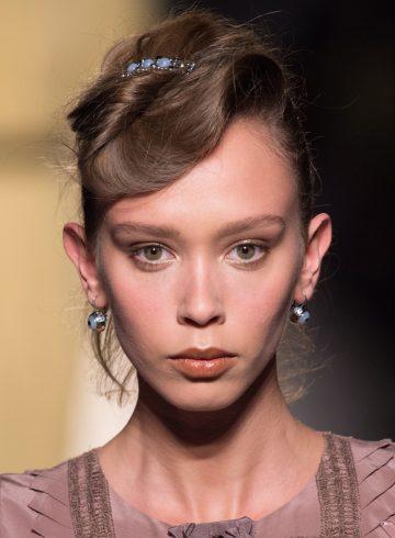 Bottega Veneta Fall 2017 Fashion Show Beauty
