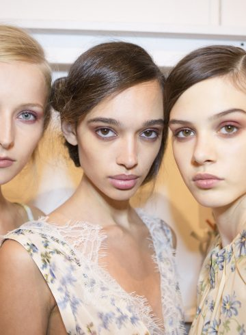 Brock Collection Spring 2018 Fashion Show Backstage Beauty
