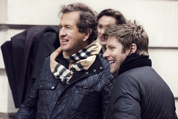 burberry behind the scenes fall photo shoot christopher baily and mario testino photo