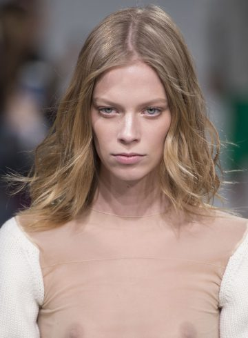 Calvin Klein Fall 2017 Fashion Show Beauty