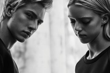 Calvin Klein Jeans Lucky Blue Smith & Sister Photo