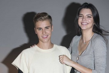 Justin Bieber & Kendall Jenner at Calvin Klein Jeans Hong Kong event photo