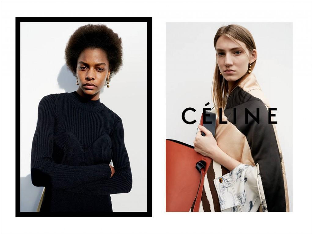 celine fall 2015 ad campaign photo