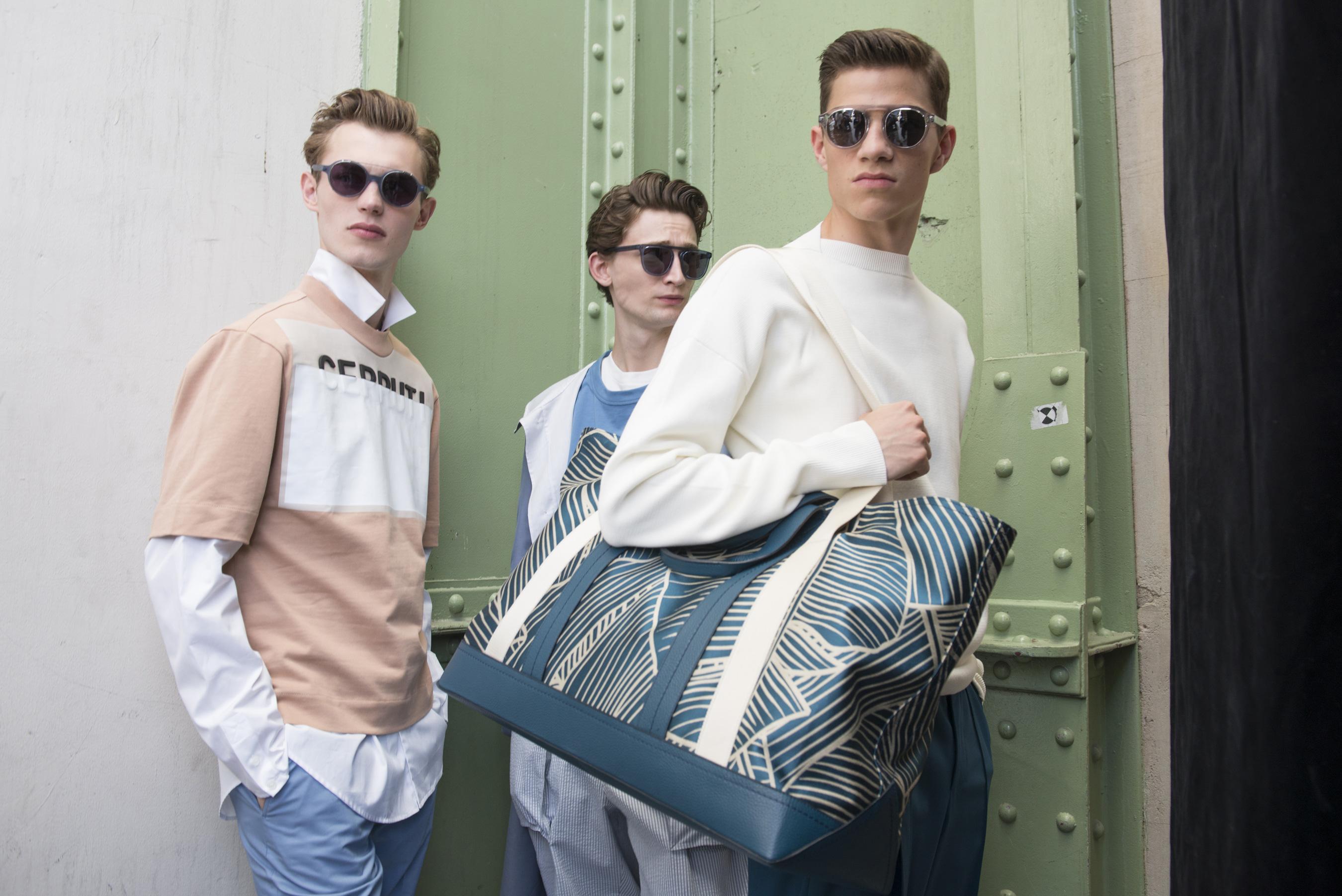 Cerruti Spring 2018 Men's Fashion Show Backstage