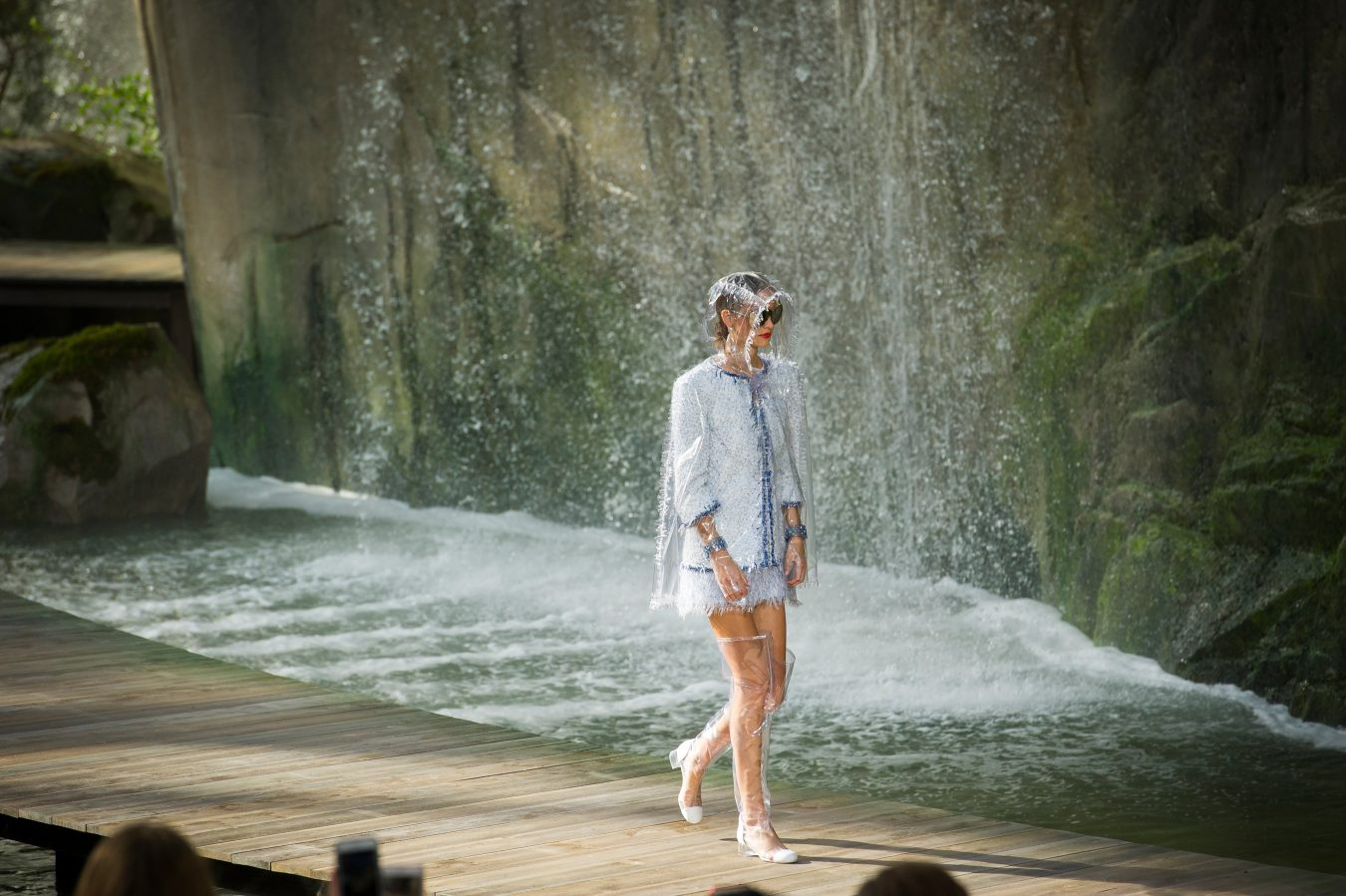 Chanel Spring 2018 Fashion Show Atmosphere
