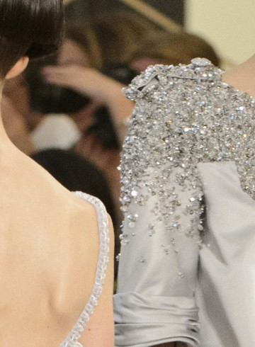 Chanel couture fashion show fall 2015 close-ups photo