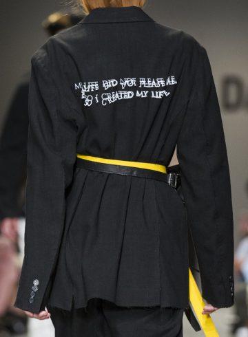 Christian Dada Spring 2018 Men's Fashion Show Details