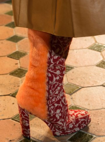 Esteban Cortazar Fall 2017 Fashion Show Details