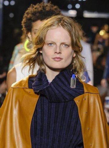 Esteban Cortazar Fall 2017 Fashion Show Beauty