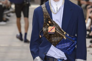 The Impression's Key Fashion Trends, Crossbody Chest Bags Spring 2018 Menswear