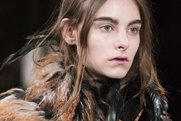 Ann Demeulemeester Fall 2017 Fashion Show Beauty