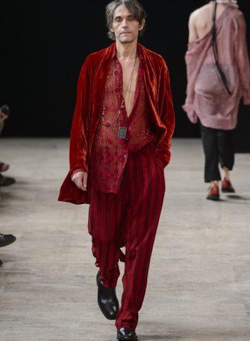 Ann Demeulemeester Spring 2018 Men's Fashion Show