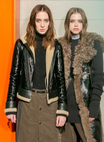 Diesel Black Gold Fall 2017 Fashion Show Backstage