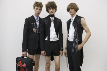 Dior Homme Spring 2018 Men's Fashion Show Backstage
