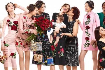 dolce & gabbana fall 2015 ad campaign photo