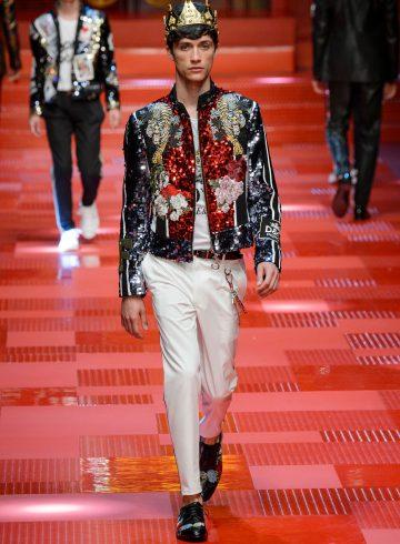Dolce & Gabbana Spring 2018 Men's Fashion Show