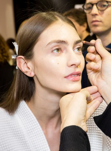 Ellery Fall 2017 Fashion Show Backstage Beauty