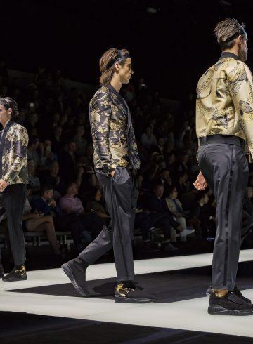 Emporio Armani Spring 2018 Men's Fashion Show Atmosphere
