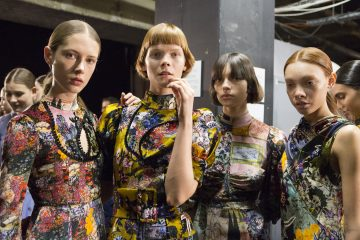 Erdem Fall 2017 Fashion Show Backstage