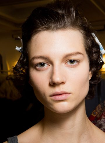 John Galliano Fall 2017 Fashion Show Backstage Beauty