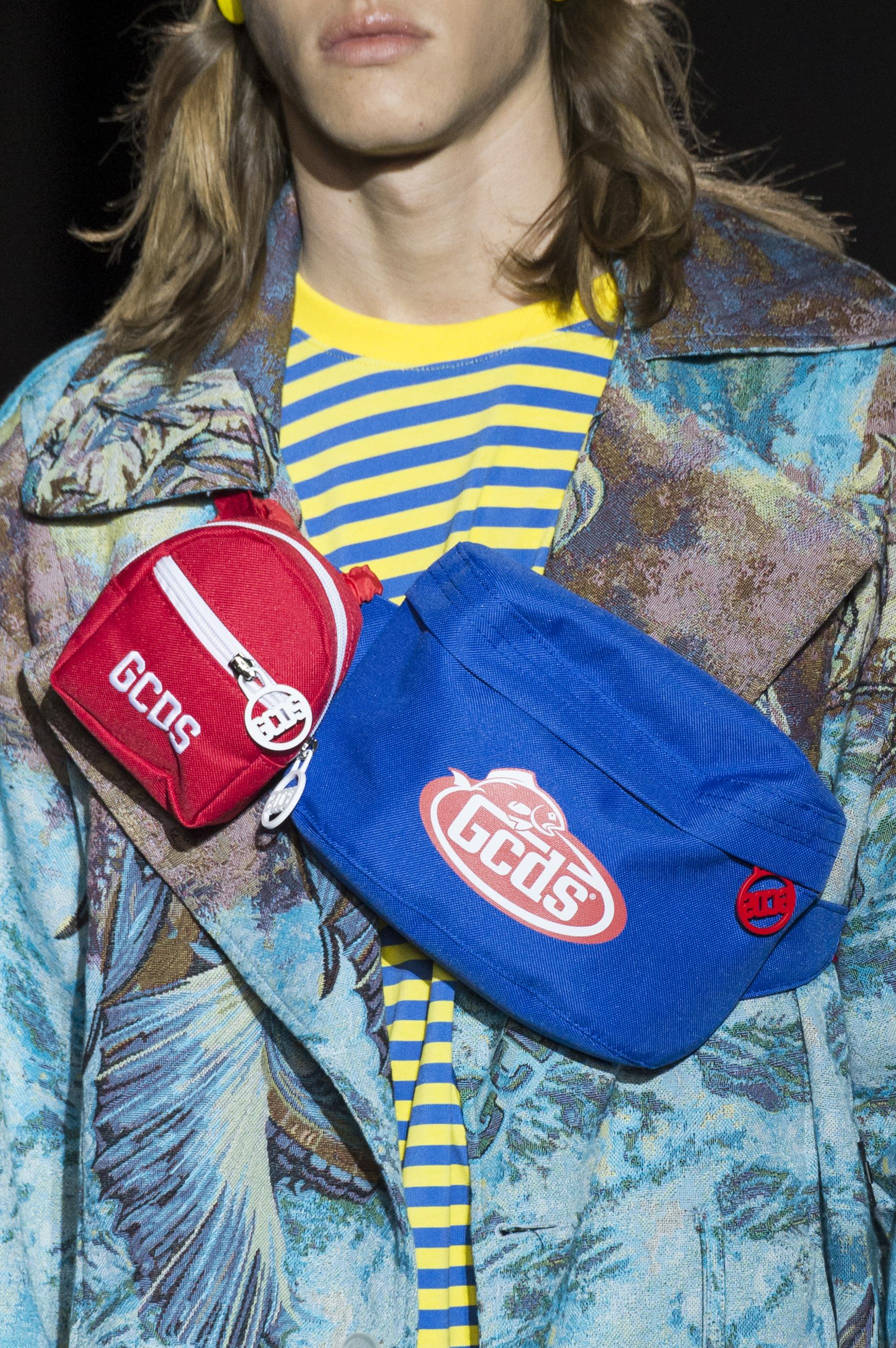 The Impression's Key Fashion Trends, Crossbody Chest Bags Spring 2018 Menswear