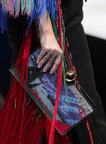 Giorgio Armani Fall 2017 Fashion Show Details
