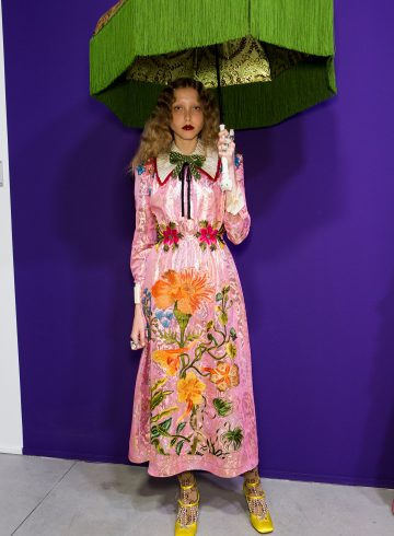 Gucci Fall 2017 Fashion Show Backstage