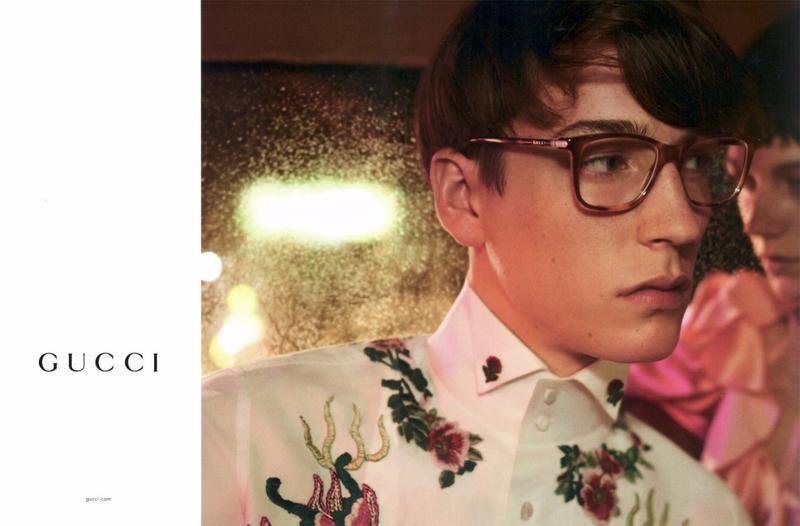 1e9ed347137 Gucci Spring 2017 Eyewear Campaign - The Impression