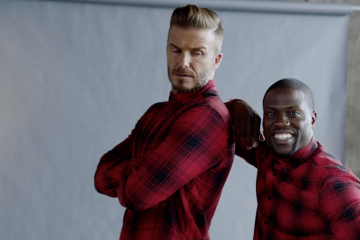 H&M David Beckham Kevin Hart