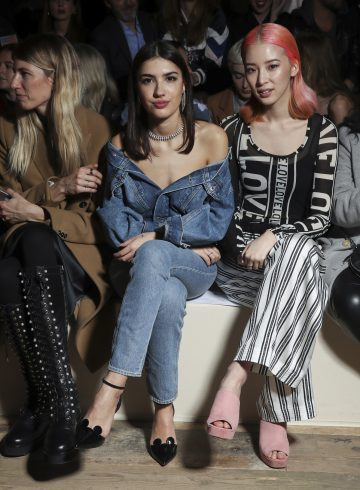 H&M Spring 2017 Fashion Show Front Row