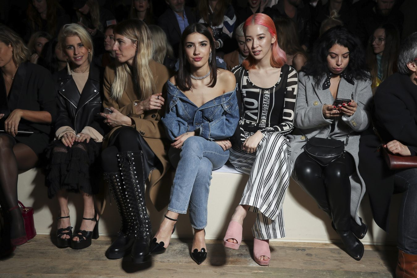 H M Spring 2017 Fashion Show Front Row The Impression