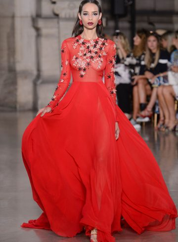 Georges Hobeika Fall 2017 Couture Fashion Show