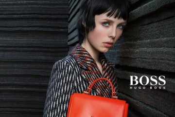 Hugo Boss Edie Campbell fall 2015 ad