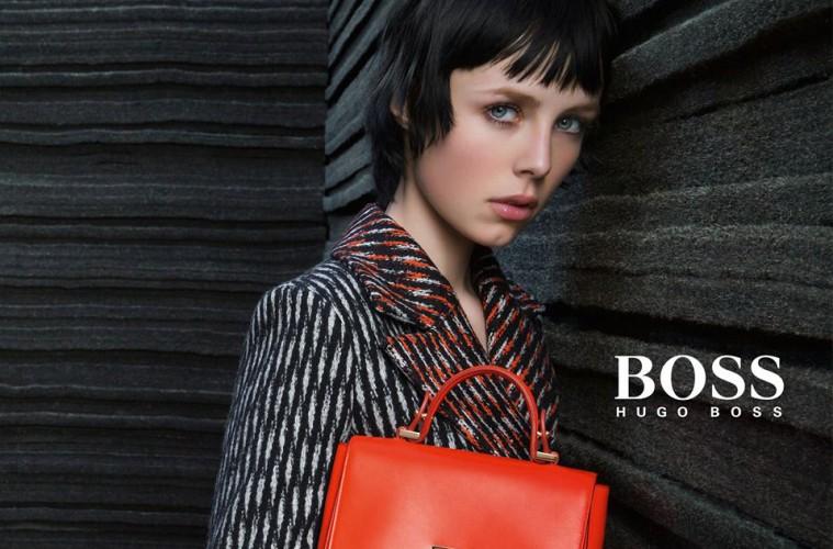 Hugo Boss Edie Campbell fall 2015 ad