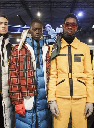 Kenzo Fall 2017 Menswear Fashion Show Backstage