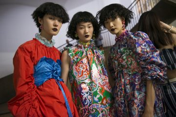 Kenzo Spring 2018 Fashion Show Backstage