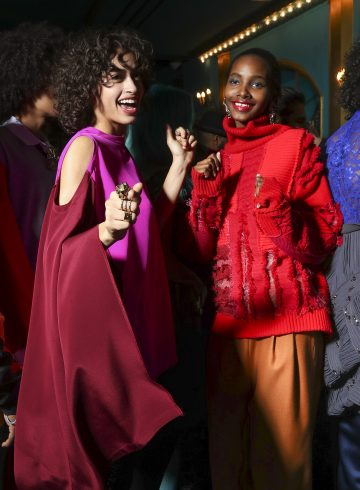 Koché Fall 2017 Fashion Show Backstage