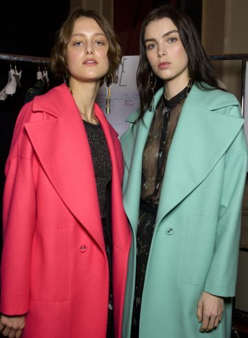 Kristina Ti Fall 2017 Fashion Show Backstage