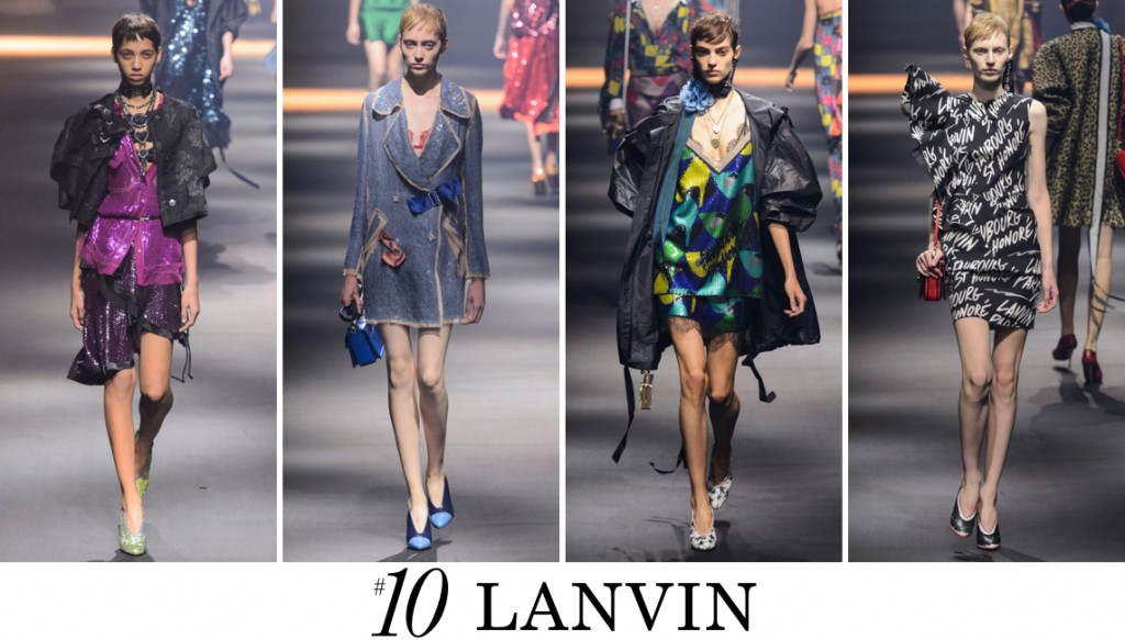Lanvin Top 10 spring 2016 fashion show photo