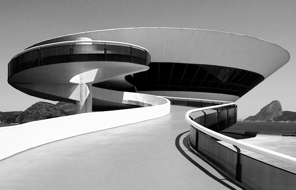 Oscar Niemeyer's The Niterói Contemporary Art Museum
