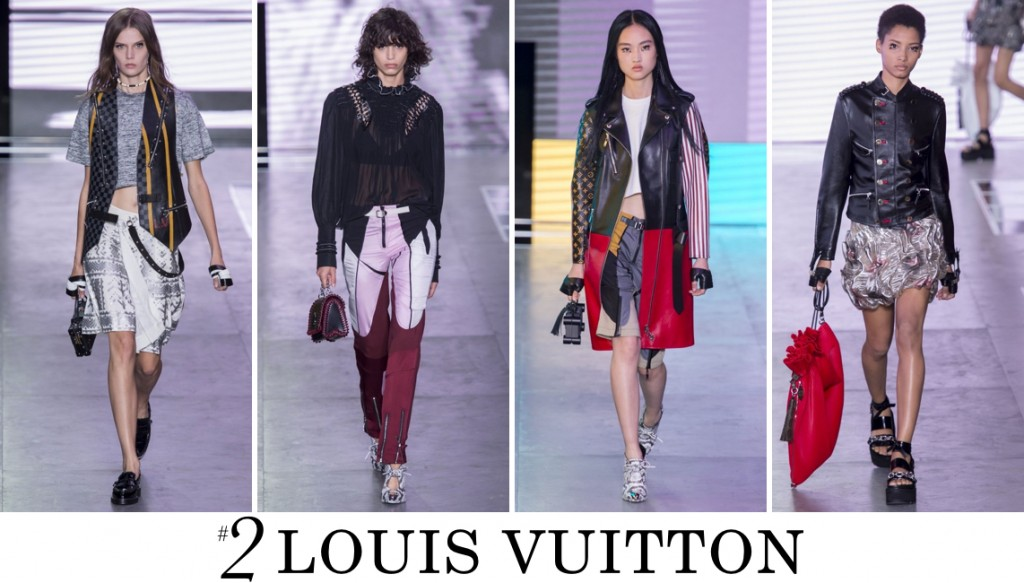 Louis Vuitton Spring 2016 Fashion Show Top 10 Photo