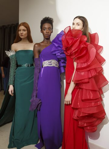 Alexis Mabille Spring 2017 Couture Fashion Show Backstage