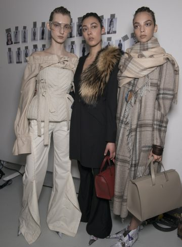 Anne Sofie Madsen Fall 2017 Fashion Show Backstage