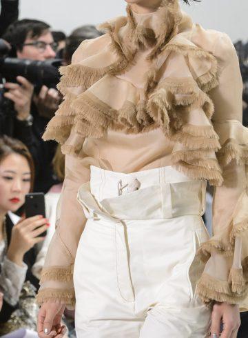 Anne Sofie Madsen Fall 2017 Fashion Show Details