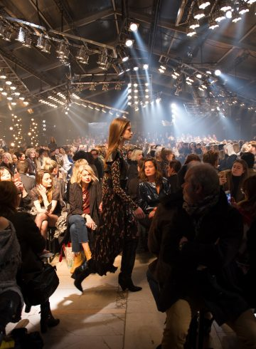 Isabel Marant Fall 2017 Fashion Show Atmosphere